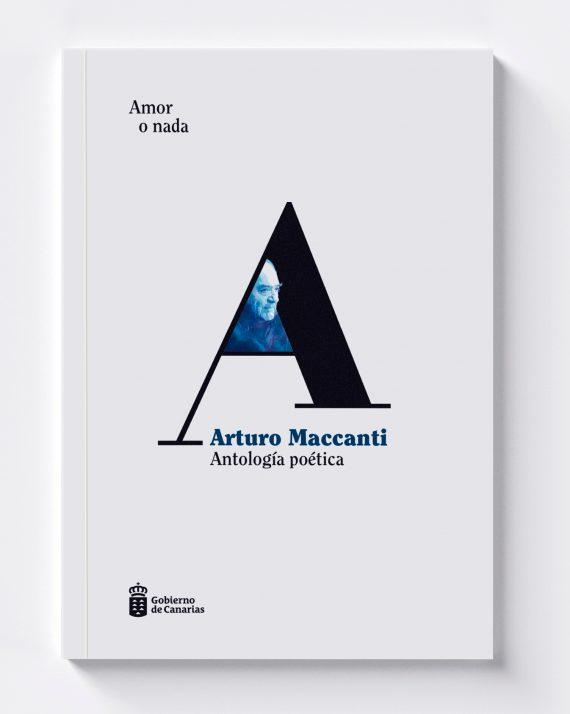 sergiohp, diseño de antología poética Arturo Maccanti
