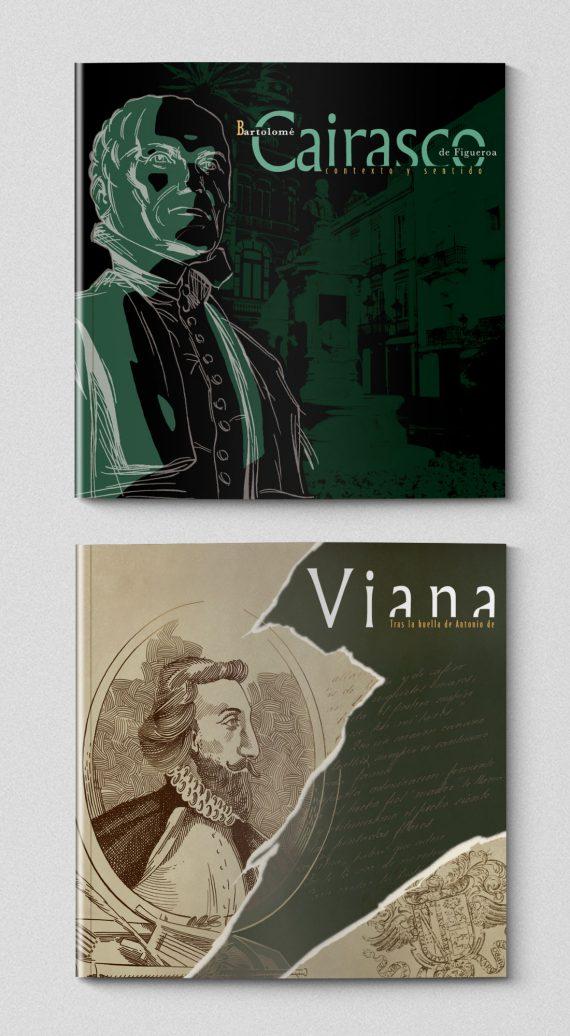 sergiohp, diseño y maquetación de libros: Cairasco y Viana