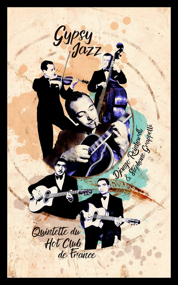 Django Reinhardt (sergiohp, ilustración)