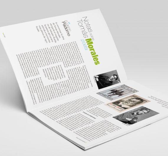 sergiohp, diseño y maquetación revista Tomás Morales; Letras Canarias 2011