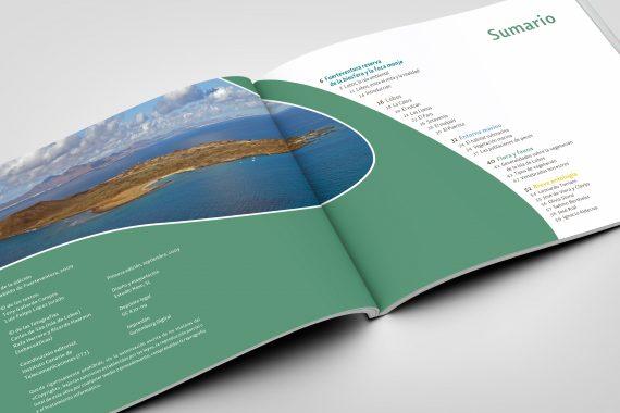sergiohp, diseño y maquetación de libro Isla de Lobos