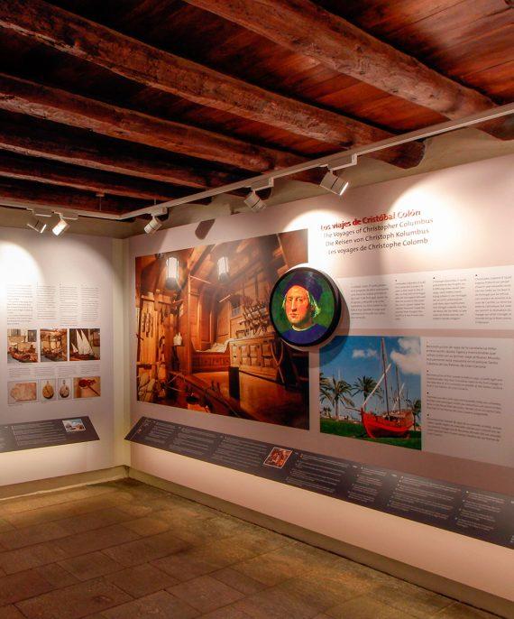 sergiohp, diseño exposición Museo Finca Condal